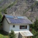 Installation Mixte PV Sunpower et CESI